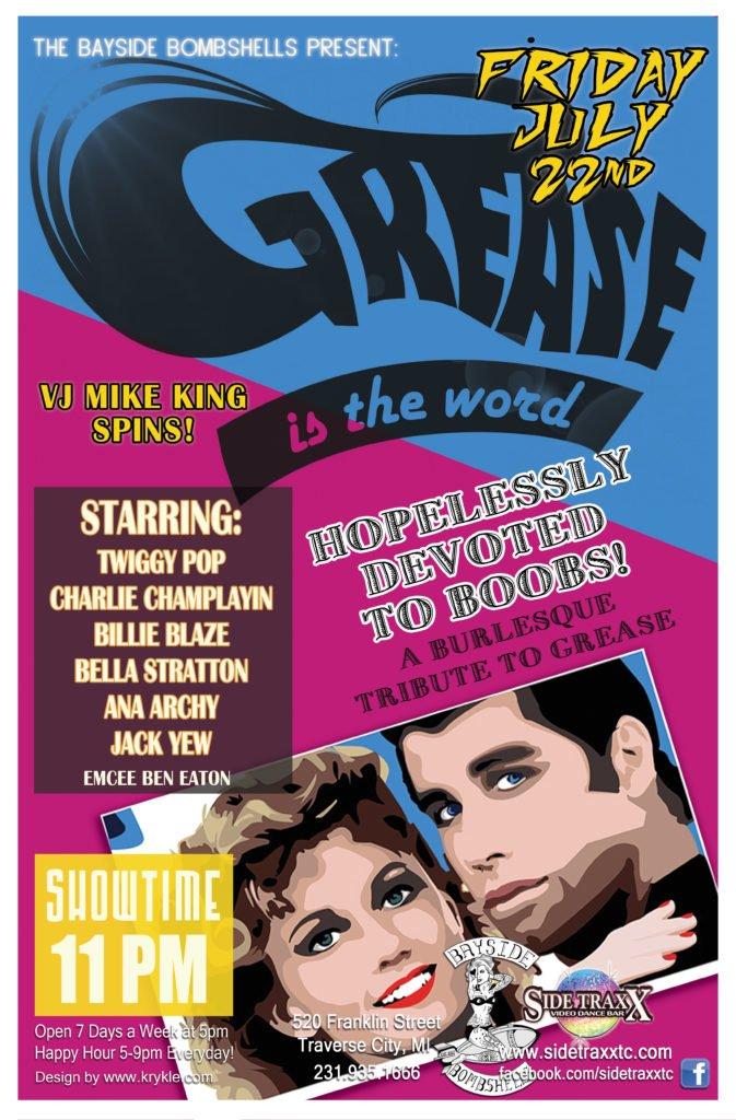 WEB Grease Bayside Bombshells Burlesque 2016