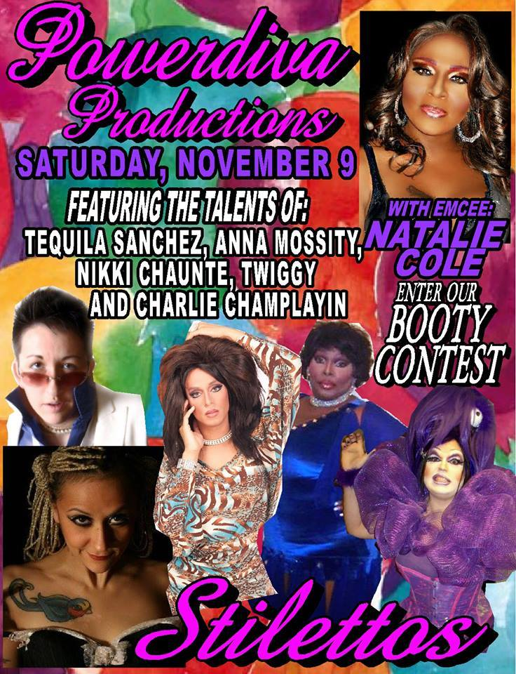 Charlie Champlayin and Twiggy Pop will be performing this Saturday, November 9th at Stilettos, located in Detroit, MI
