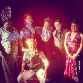 Our Very Own Charlie Champlayin was Crowned Mister Spiral 2014!