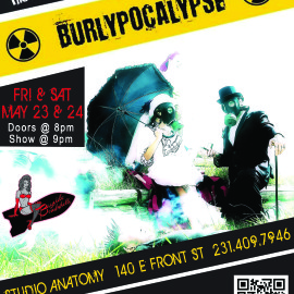 Burlypocalypse this Friday and Saturday – Presented by The Bayside Bombshells