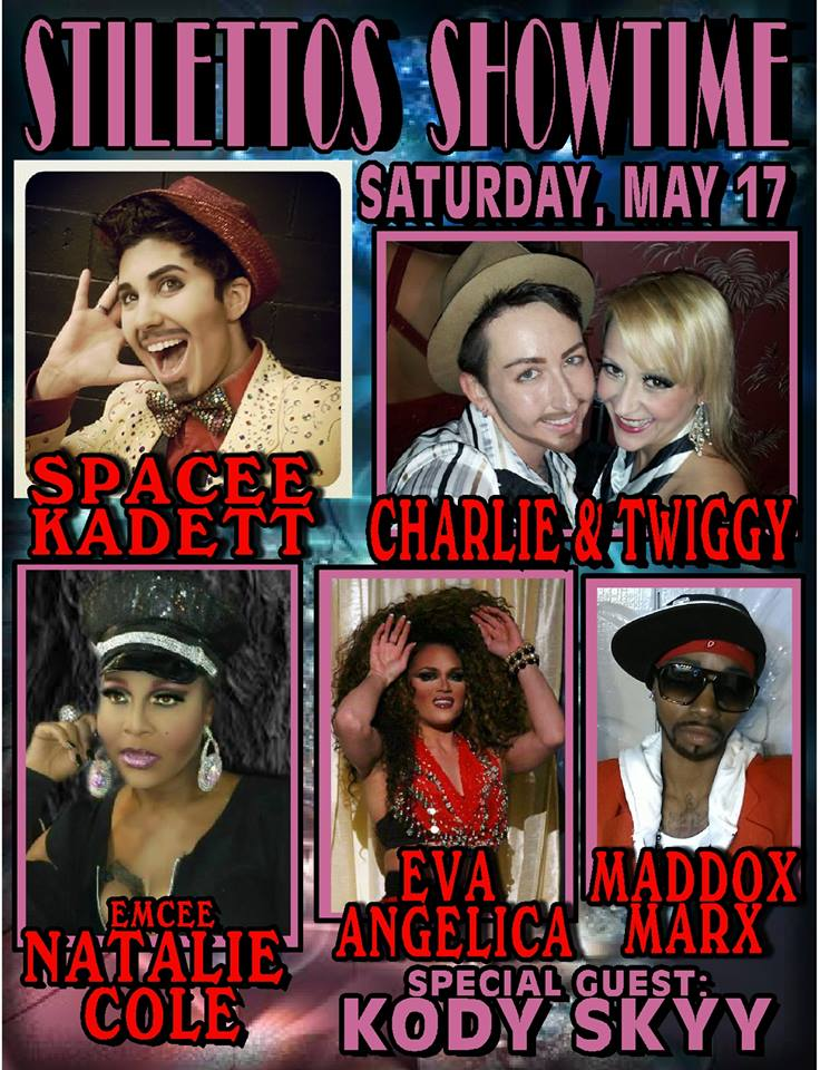 stilettos saturday may 2014