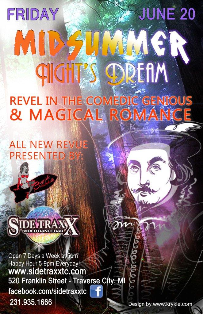 RGB A Midsummer Night's Dream Sidetraxx Bar June 20th 2014