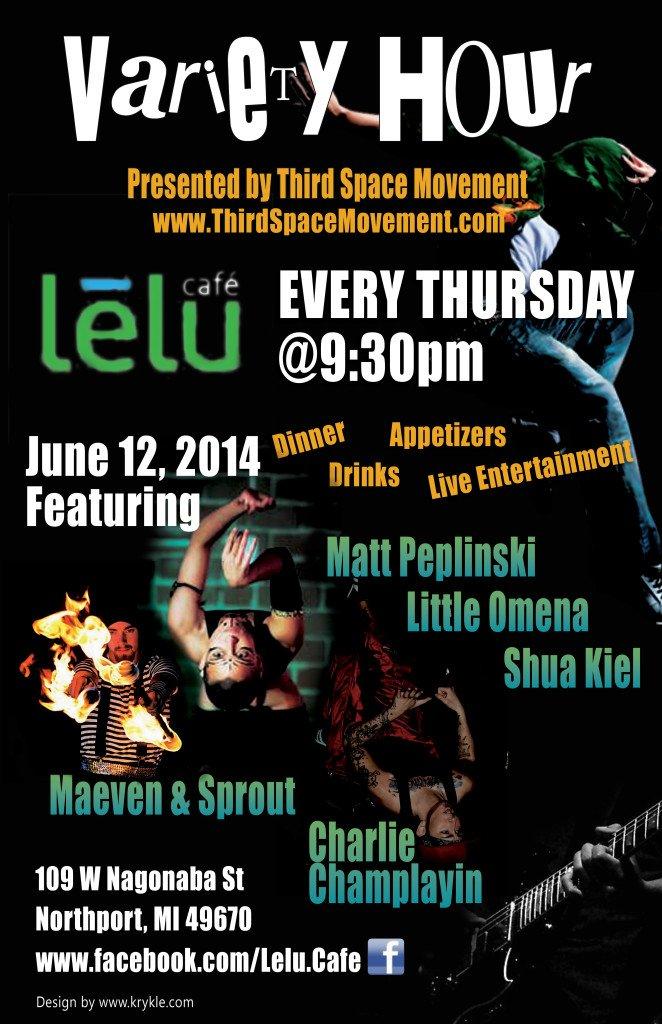 RGB June 12 2014 Variety Hour Lelu Cafe