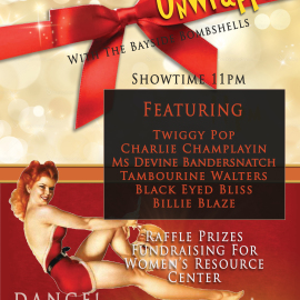 Christmas Unwrapped – Presented by the Bayside Bombshells Burlesque Troupe