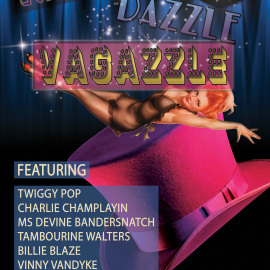 Friday – January 23, 2015 – Razzle Dazzle Vagazzle – Presented by the Bayside Bombshells Burlesque Troupe Traverse City MI