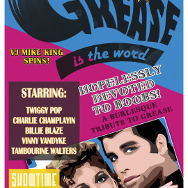 Grease – June 19th 2015 – Presented by The Bayside Bombshells Burlesque Troupe