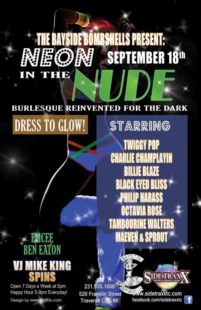 WEB Bayside Bombshells Black Light Burlesque -SideTraxx Bar
