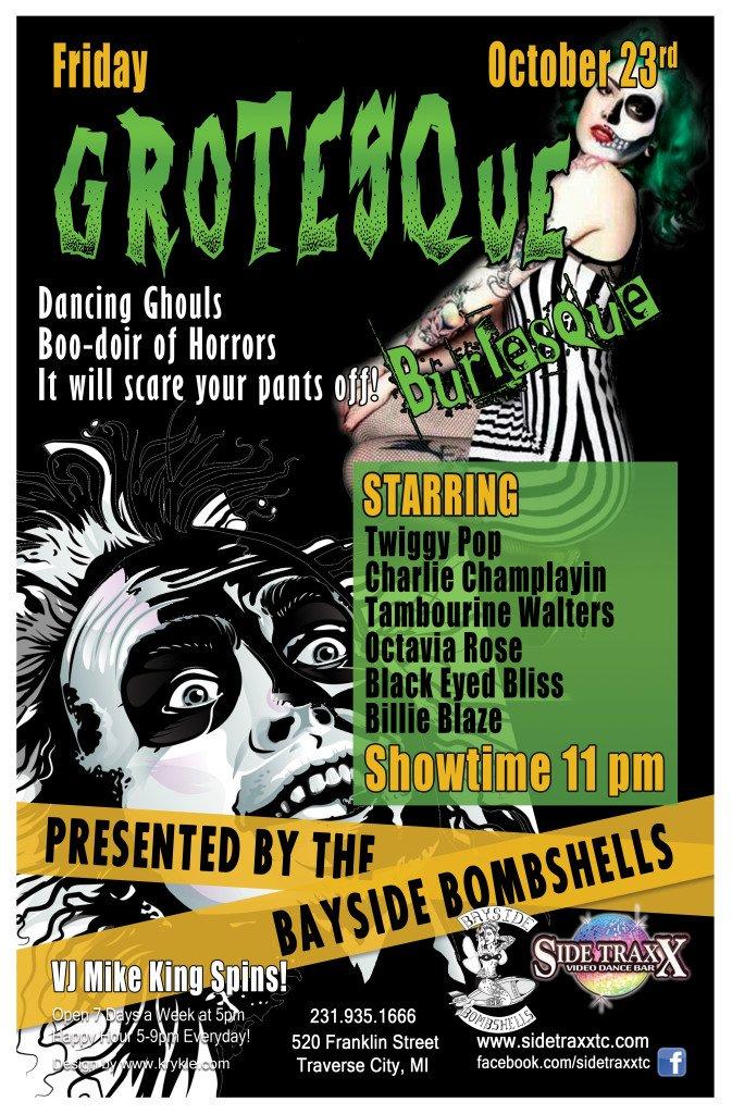 WEB Grotesque Burlesque - 2015 - Bayside Bombshells - Design by Krykle LLC
