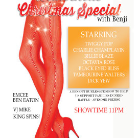 Friday December 18th 2015 – Christmas with the Bombshells!